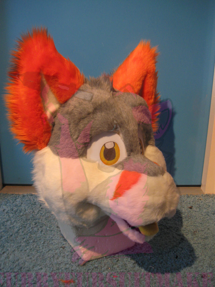 Slushie the Fox WIP by FurryFursuitMaker