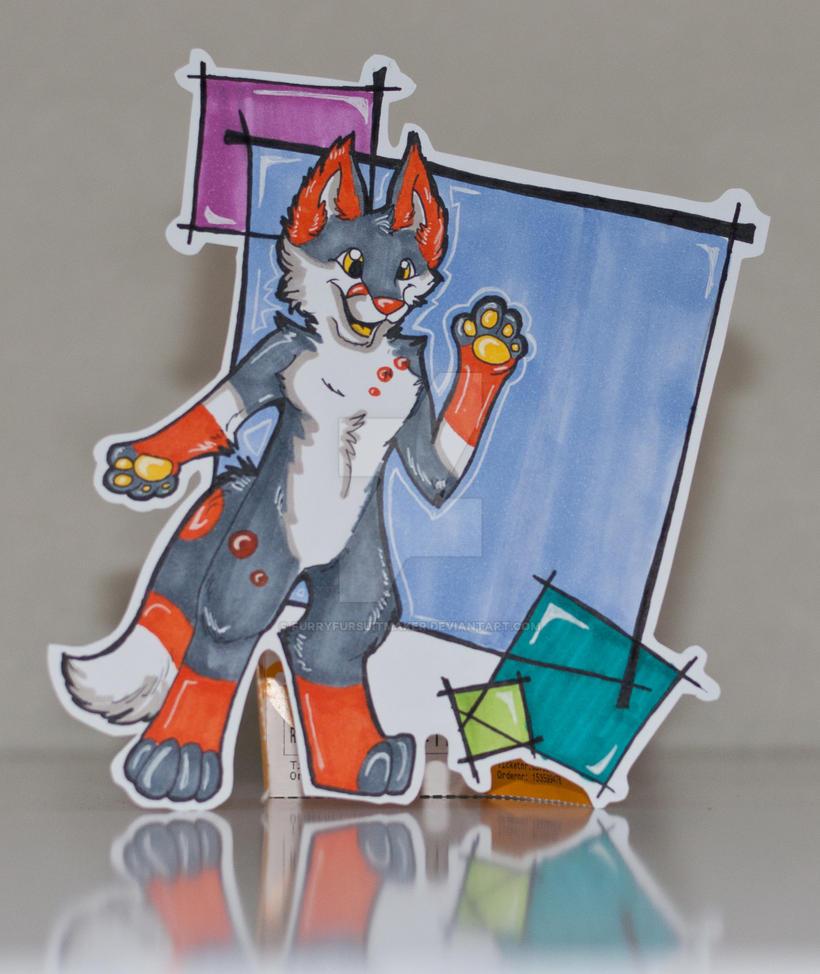 Slushie's Badge ! by FurryFursuitMaker