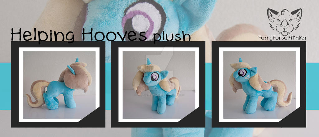 Helping Hooves - MLP plush by FurryFursuitMaker