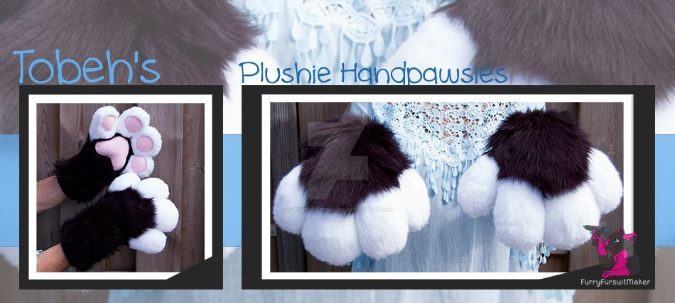 Plushie Handpawsies - Tobeh by FurryFursuitMaker