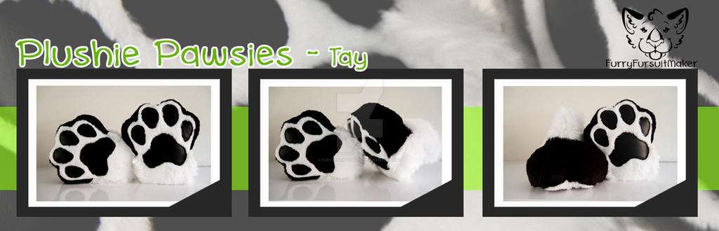 Plushie Pawsies - Tay by FurryFursuitMaker