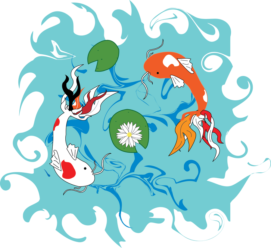 Koi fish pond by dylanspider on deviantart for Koi fish pond help