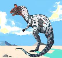 cryolophosaurus by Jaagup