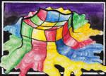 Melting Rubic's Cube by MulkEntertainment