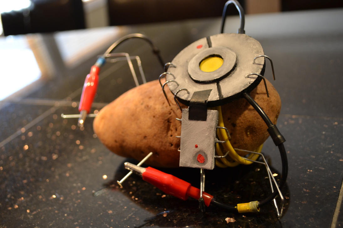 glados portal 2 potato - photo #4