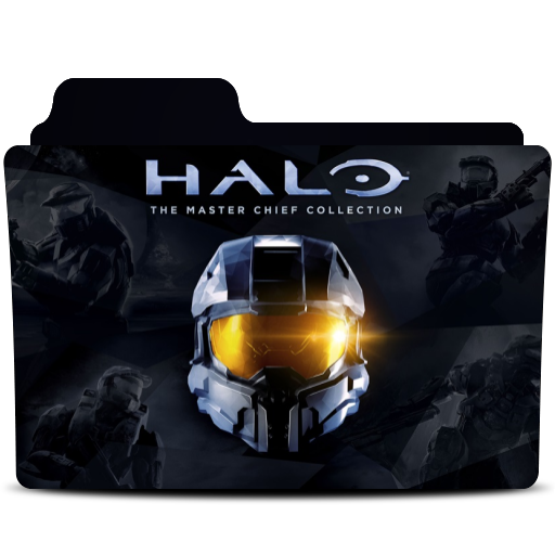 Halo Master Chief Collection Folder Icon By Monkeyrebel117