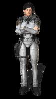 Fleet Officer FEMALE Pose A