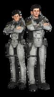 Fleet Officers Poster Pose