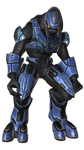 Sangheili Ascetic Armor BLUE