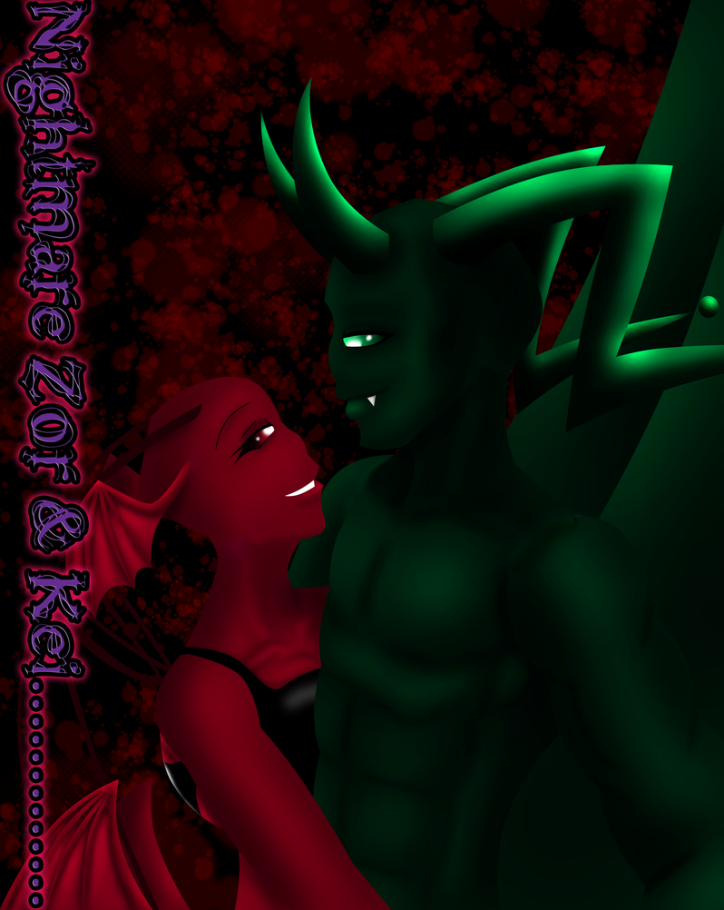 .::NIGHTMARE ZOR AND KEI::. by nightmarerae
