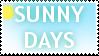 Sunny Days Stamp by Minxi-Chibi