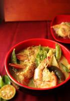 Thai Prawn Green Curry by sasQuat-ch