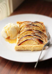 Apple-Custard Tart by sasQuat-ch
