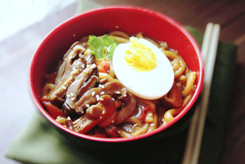 Breakfast Udon by sasQuat-ch