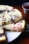 Berry Swirl Cheesecake