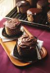 Cream Filled Chocolate Cupcake