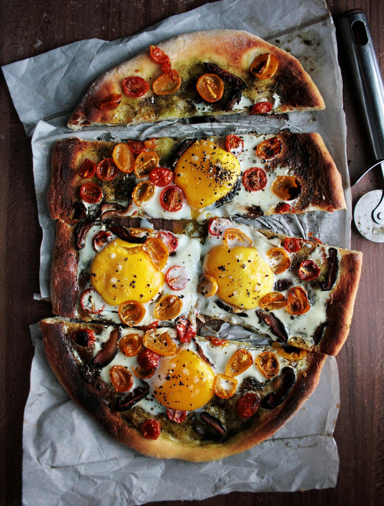 Breakfast Pizza by sasQuat-ch