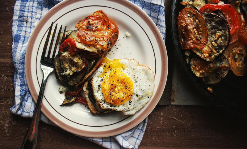 Tomato, Zucchini and Eggplant Gratin by sasQuat-ch