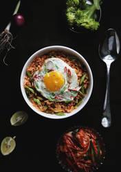 Kimchi Beokkeumbap / Kimchi Fried Rice by sasQuat-ch