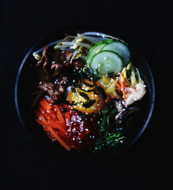Bibimbap (Korean Mixed Rice) by sasQuat-ch