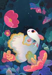 Flower guppy
