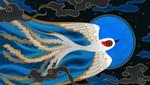 Moon bird by pikaole