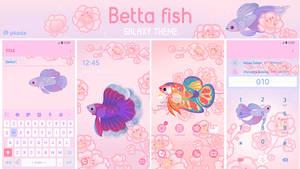 Betta fish Galaxy themes
