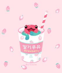 Strawberry Poison milk