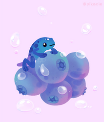 Blueberry poison yogurt1 by pikaole