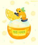 Golden poison lemon sherbet 2