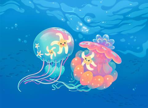Jellyfish bus