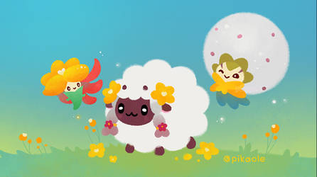 Wooloo and friend