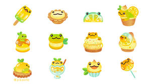 Sweet Lemon frog