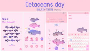 [ galaxy themes] Cetaceans day