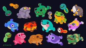 Frog villagers