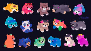 Baby bear villagers