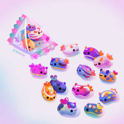 Jelly bean sea slug