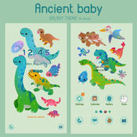 [Galaxy/LINE themes] Ancient baby