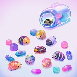 Pill bugs