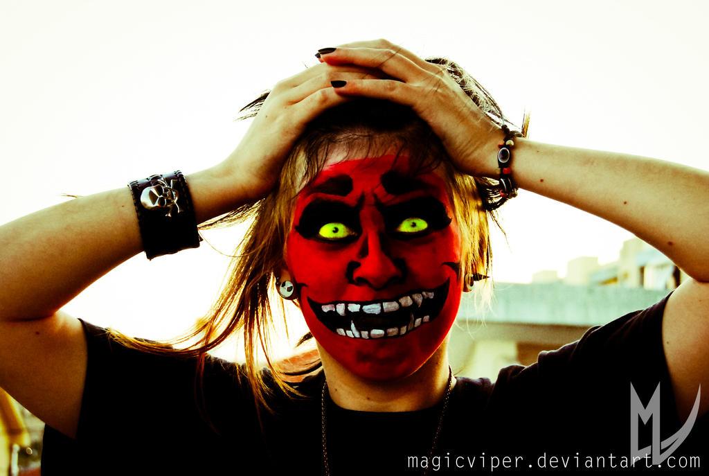 Hannya by MagicViper