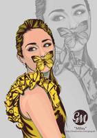 Miley Cyrus by greg-arts