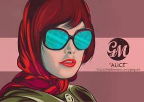 Alice Cullen by greg-arts