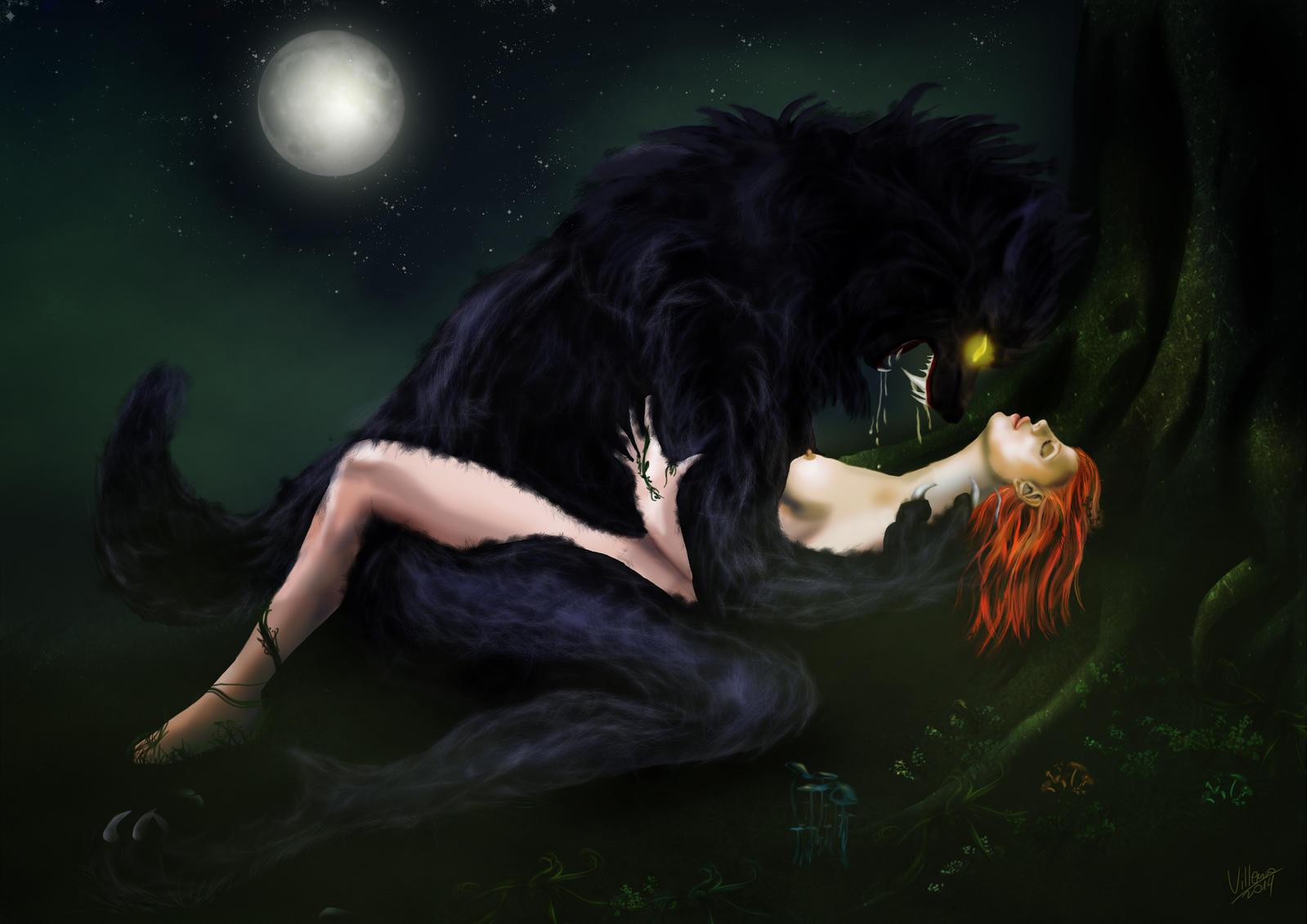 big bad wolf art