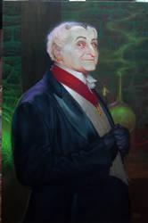 GRANDPA MUNSTER oil painting by OLDSCHOOLDAN