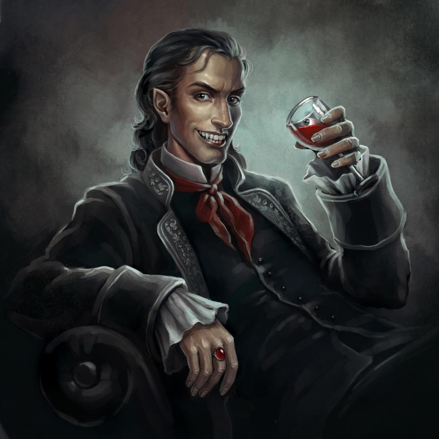 Vampire by sharandula