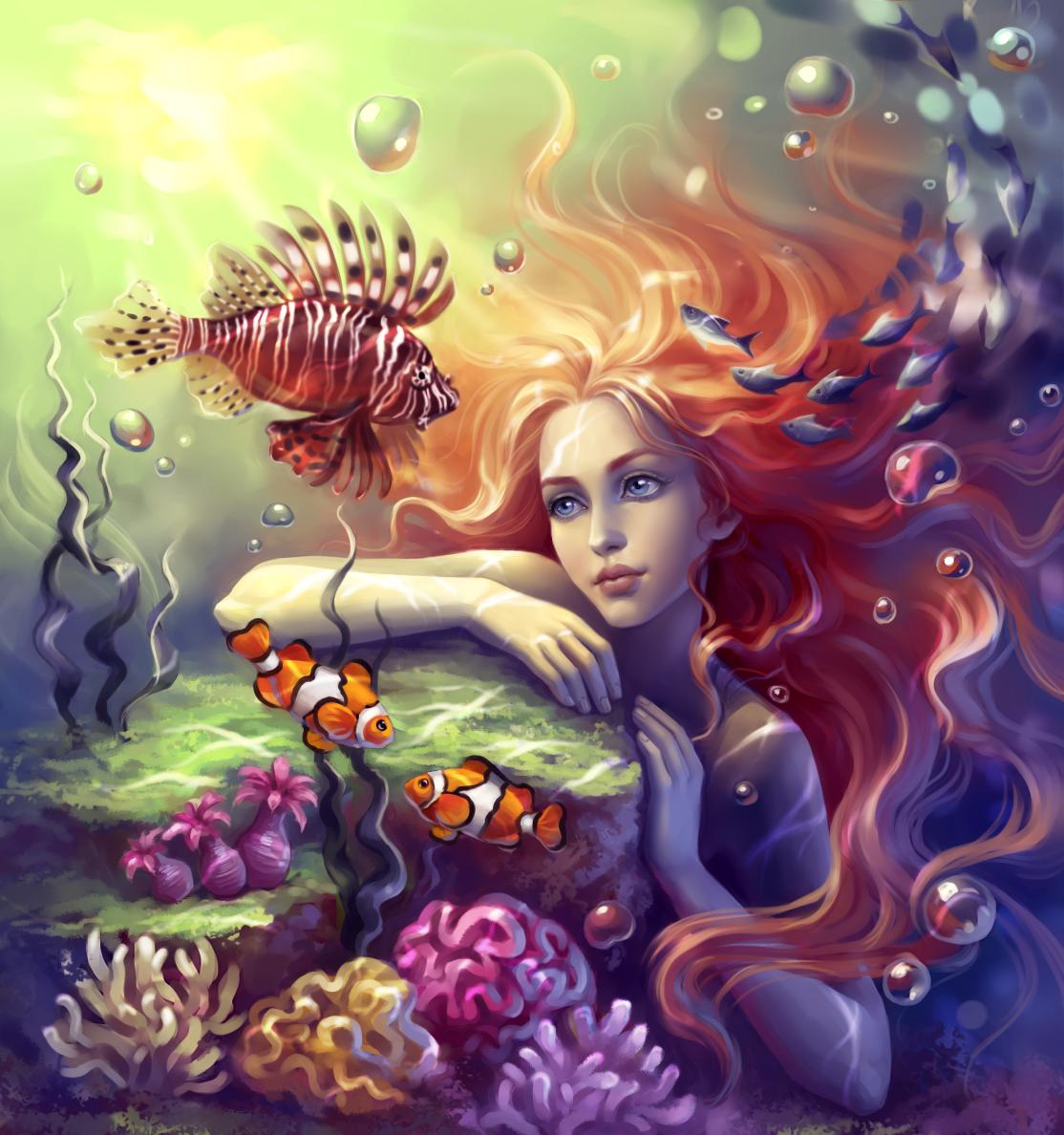 Mermaid_2 by sharandula