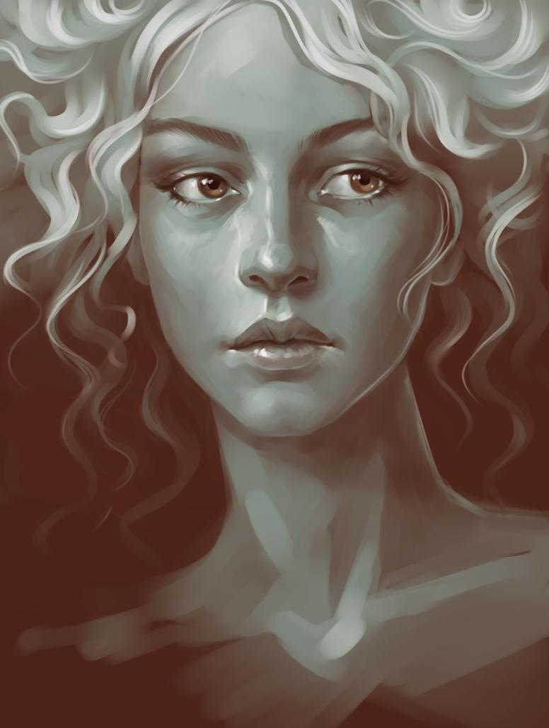 portrait by sharandula on DeviantArt
