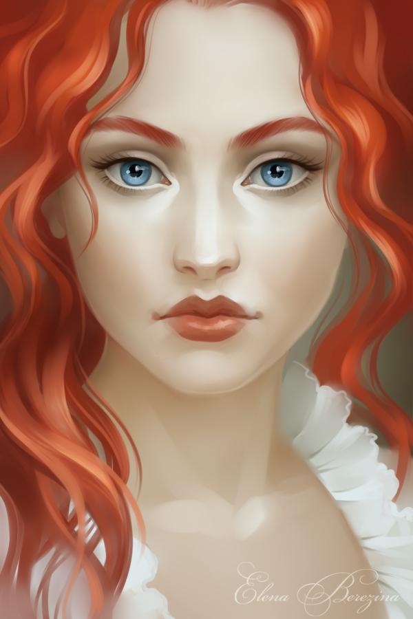 Redhead by sharandula