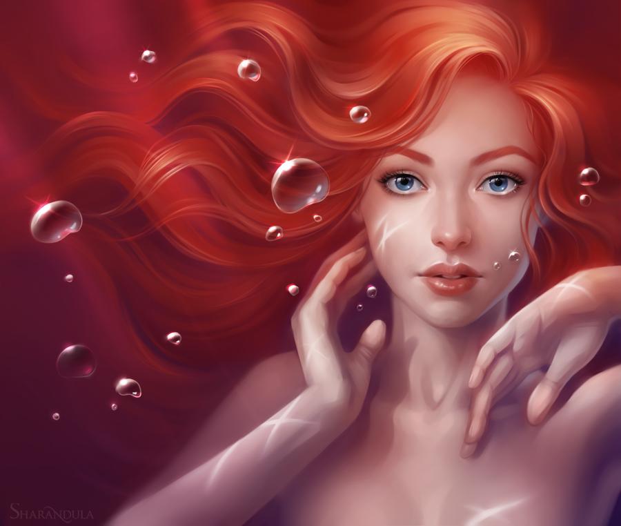 The Little Mermaid by sharandula