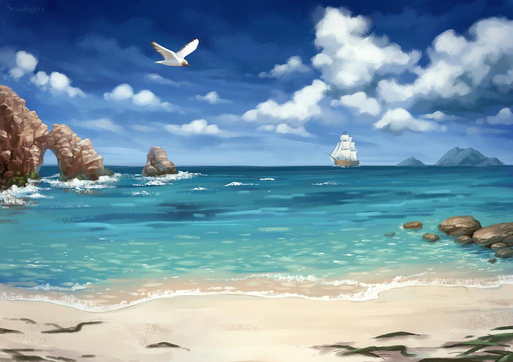 sea by sharandula